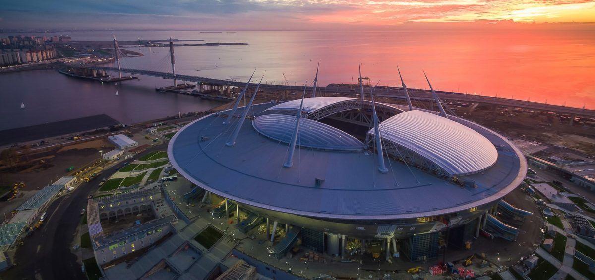 Krestovsky Arena, San Petesburgo, Rusia