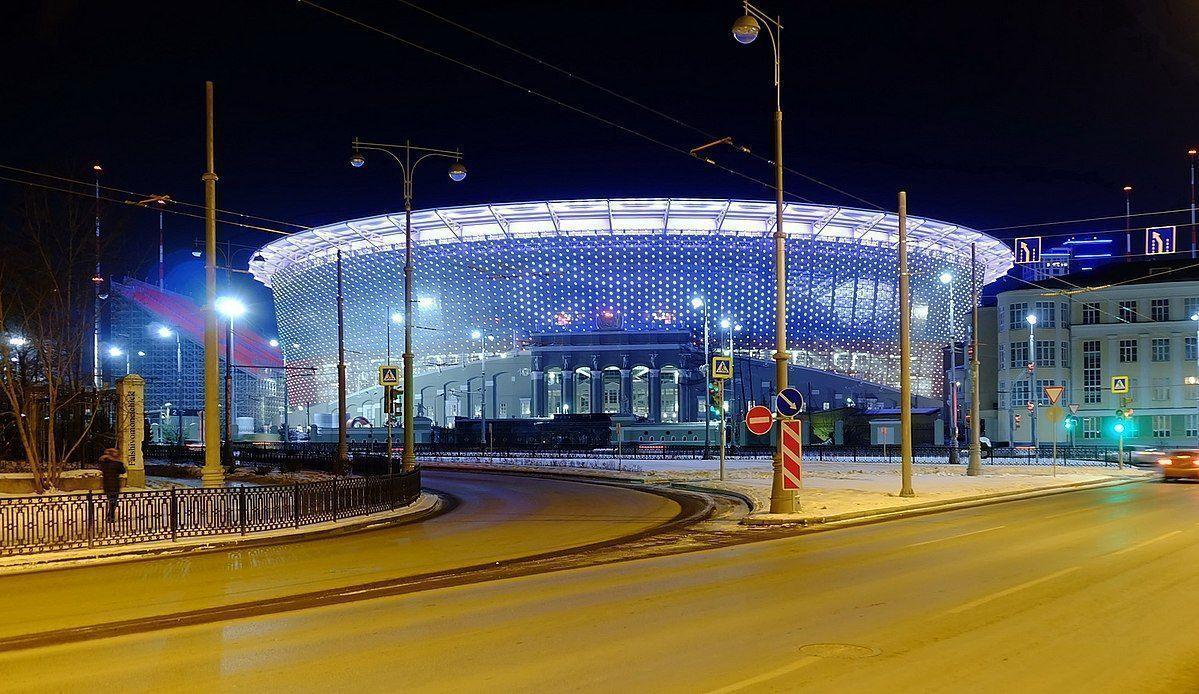 Mundial Rusia 2018: El extraño diseño del Ekaterimburgo Arena