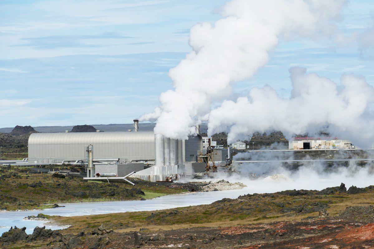 Planta geotermica islandia