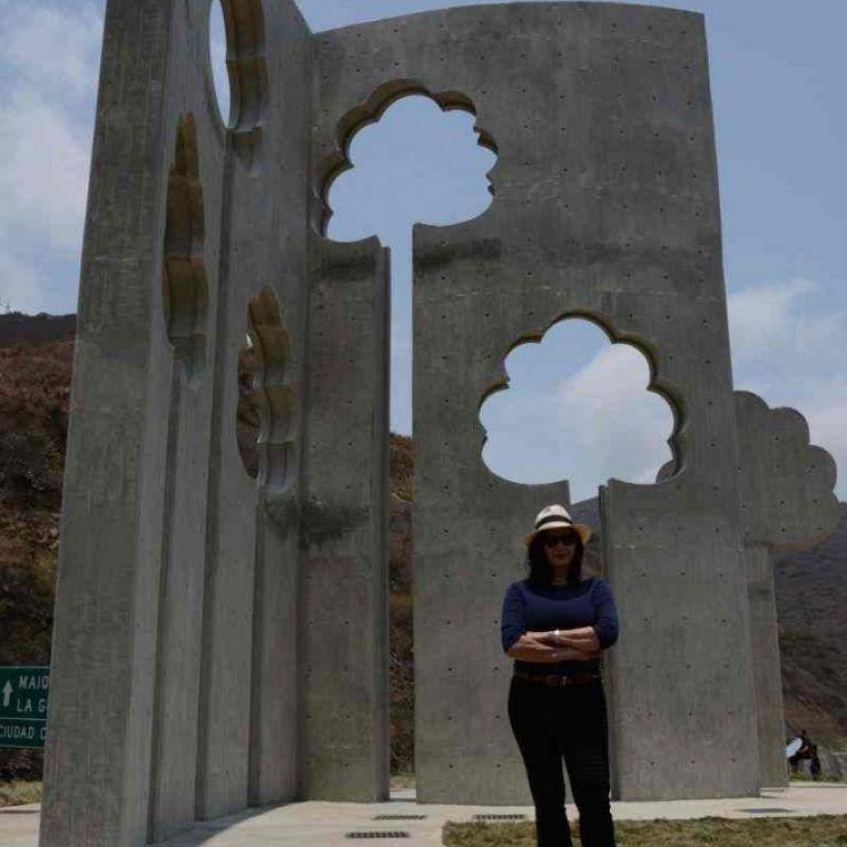 """Las obras de Sydia Reyes son """"testigos"""" de la relación del hombre con su entorno"""