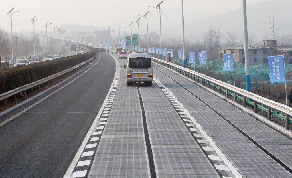 Carretera solar: ¿Una nueva visión de la infraestructura vial?