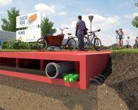 La primera carretera de plástico reciclado se instala en septiembre