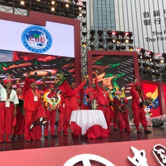 Los Diablos Danzantes de Yare protagonizaron muestra cultural en China