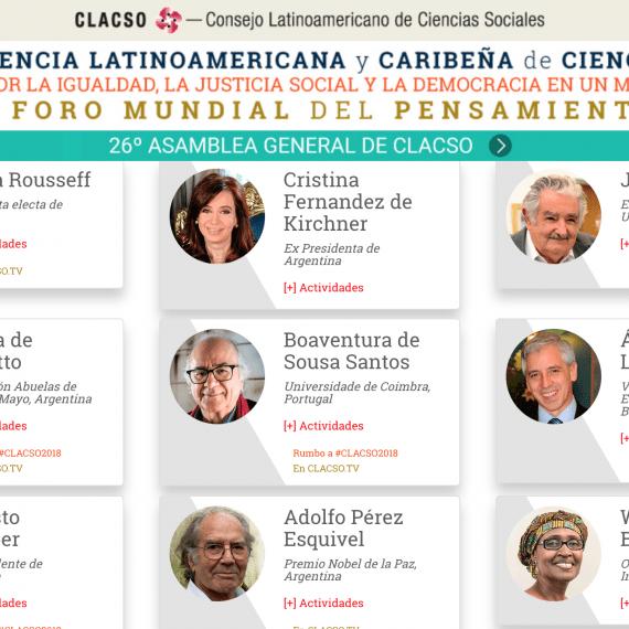 El Primer Foro Mundial del Pensamiento Crítico se realizará en Argentina