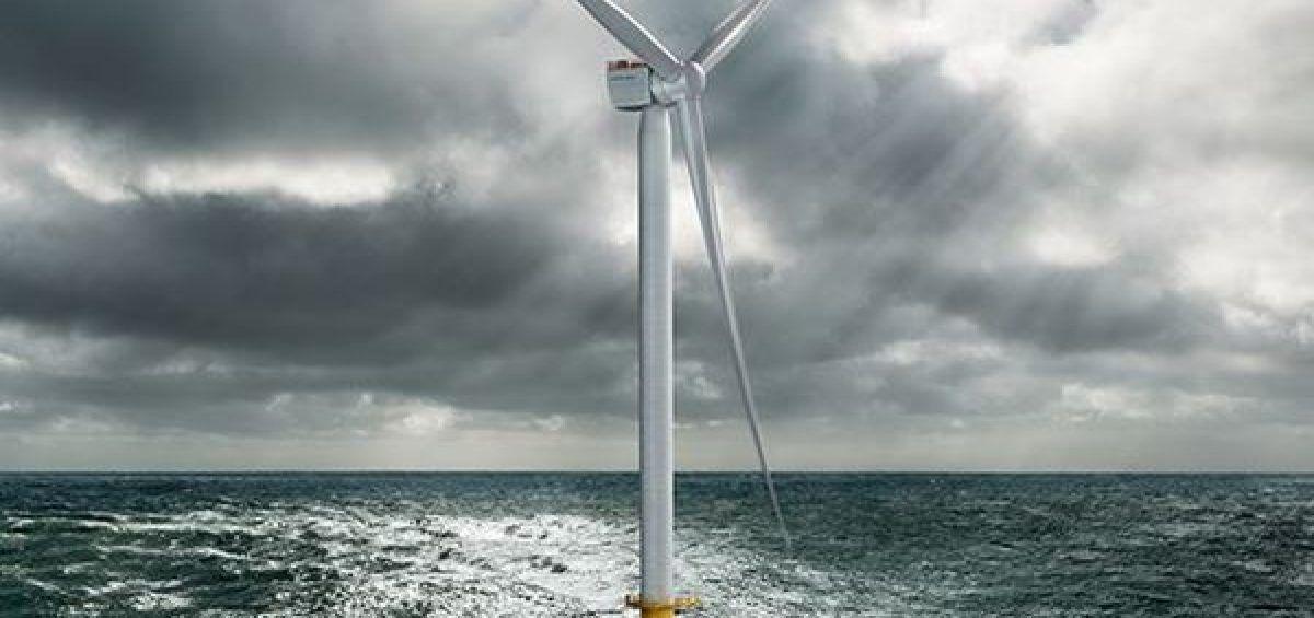 Presentan nueva turbina de viento gigante con aspas del tamaño de un campo de fútbol