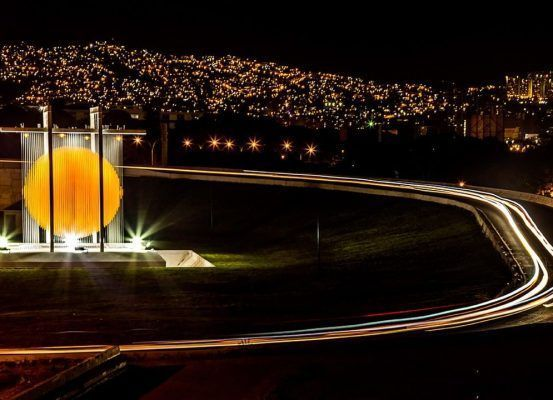 Caracas desde la esfera