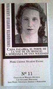 La voz sin lastres de Enriqueta Arvelo Larriva