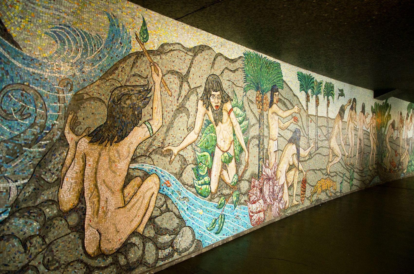 Amalivaca nos cuenta un mito desde el corazón de Caracas