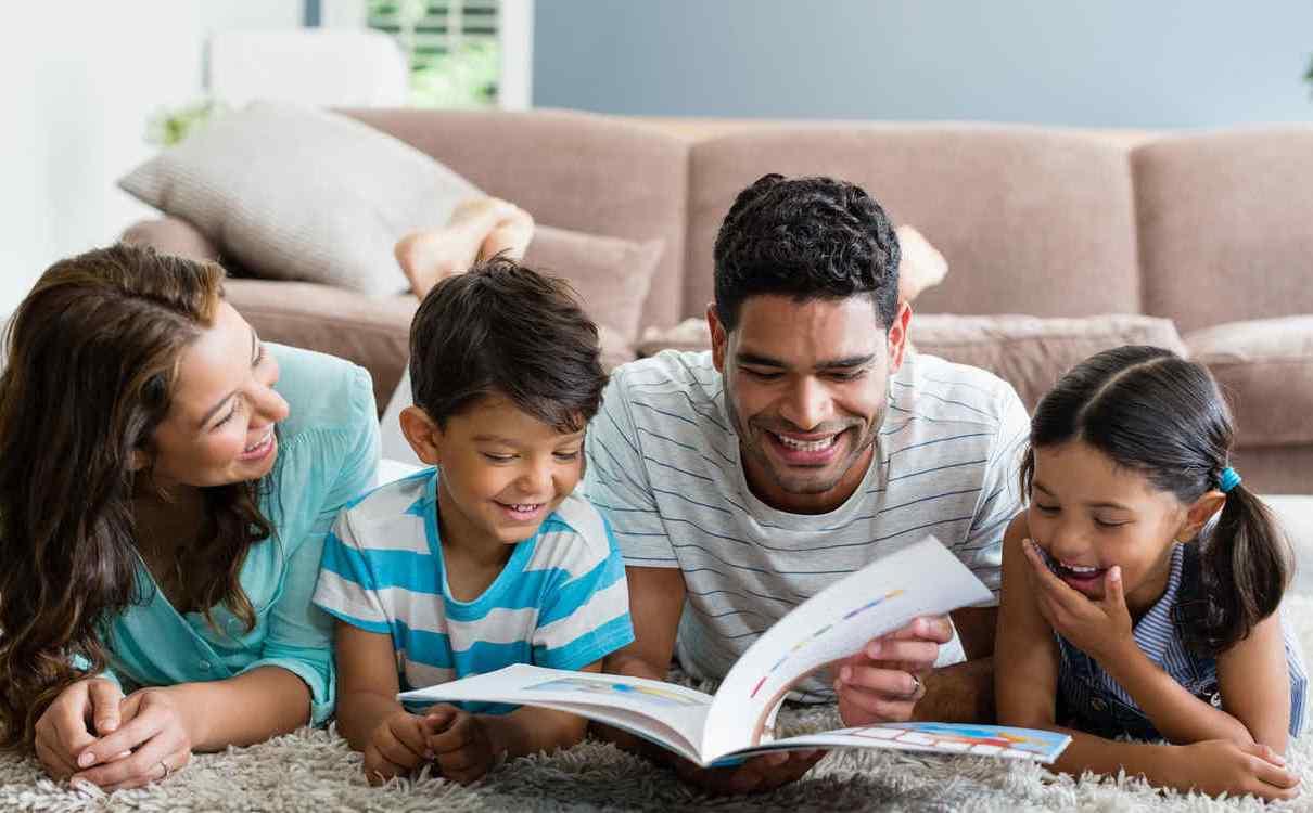 Aprovechar el tiempo con los niños en casa