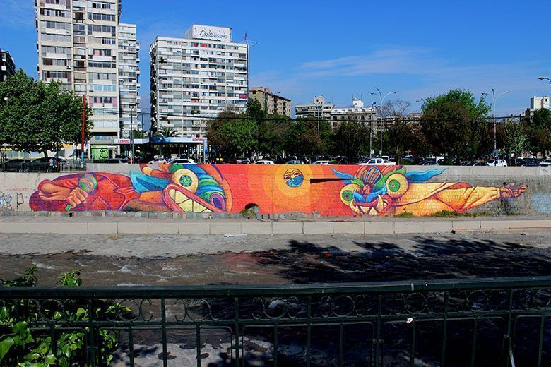 Kalaka, los muros son lienzos de la mixtura latinoamericana