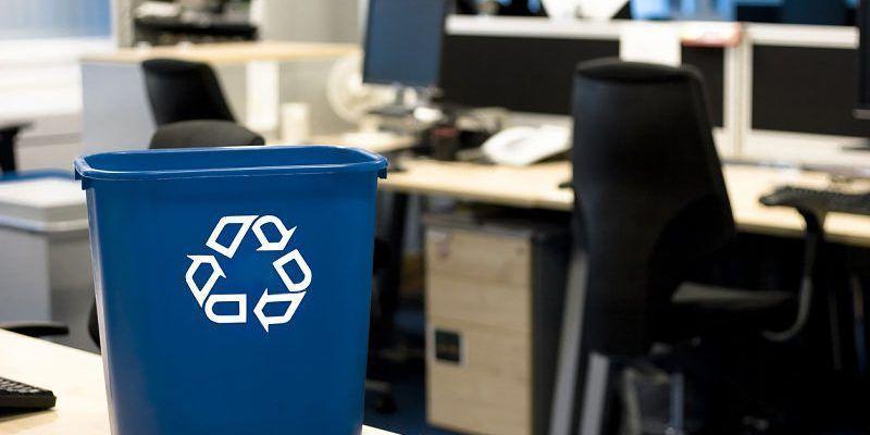 El papel ecológico de las oficinas