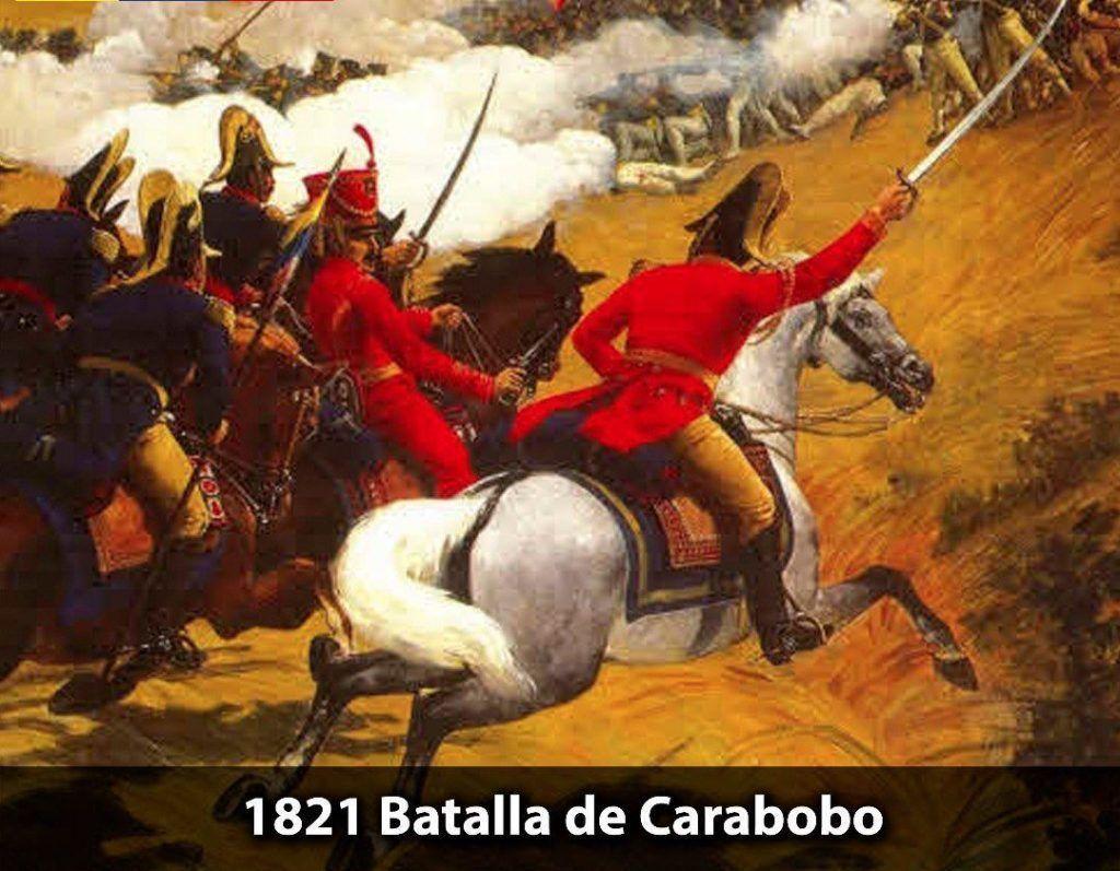 Tras 13 años de intensas batallas Venezuela se libró del yugo español