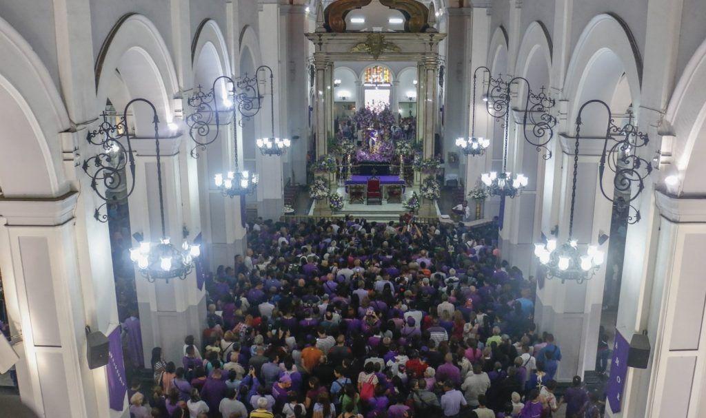 Entre epidemias se consolidó la devoción al milagroso Nazareno de San Pablo
