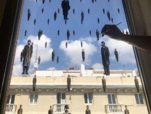 El Covid 19 llega a las calles del mundo a través del arte