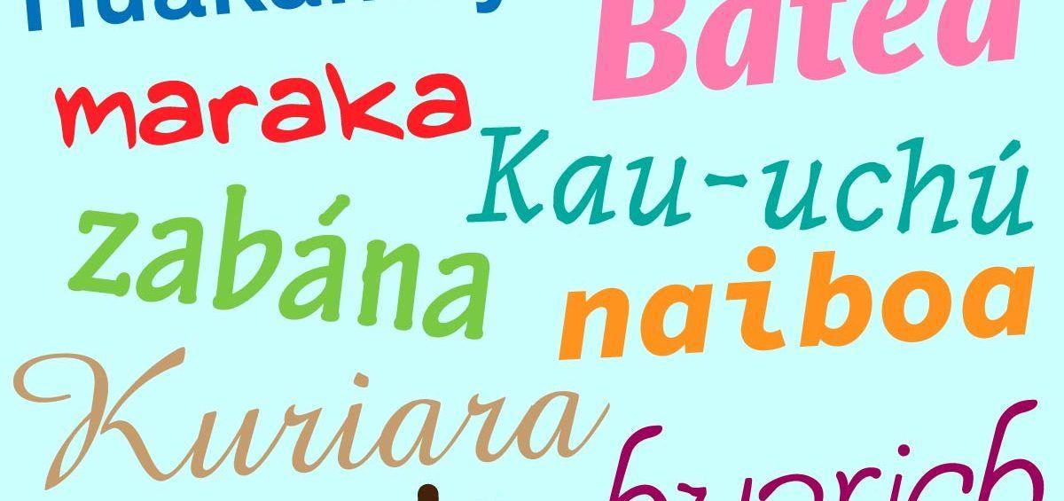 Voces indígenas en el hablar del venezolano