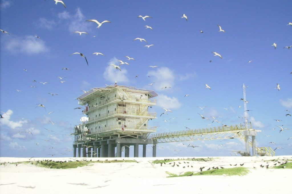 En Isla de aves reina la soberanía venezolana