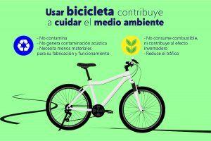 Más sanos, felices y ecológicos en bicicleta