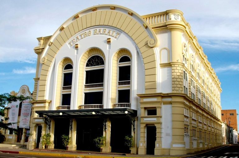 Teatro Baralt centenaria referencia cultural de Maracaibo