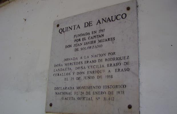 La Quinta de Anauco es un portal al pasado colonial de Caracas
