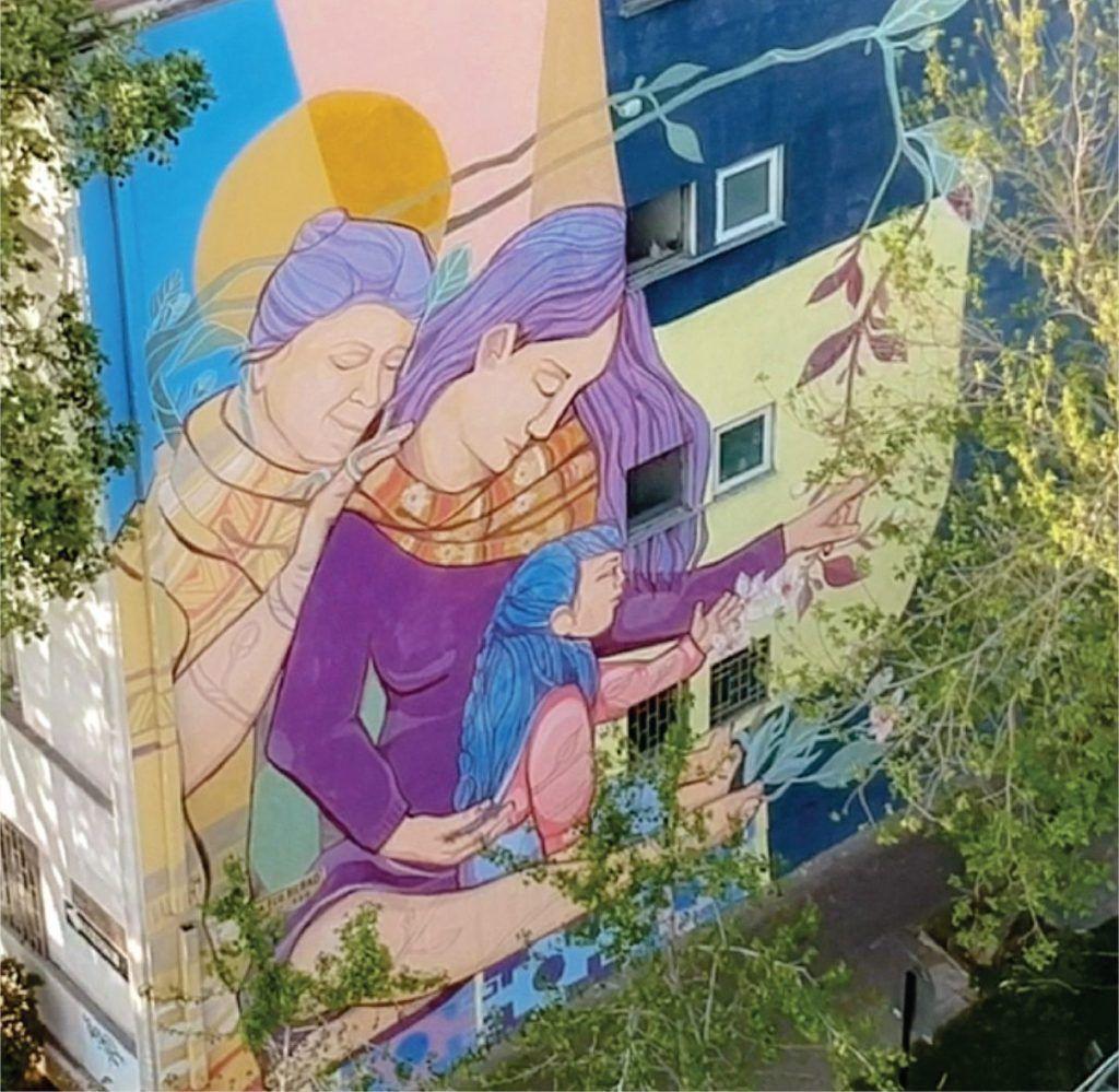 ¿Murales que purifican el aire?