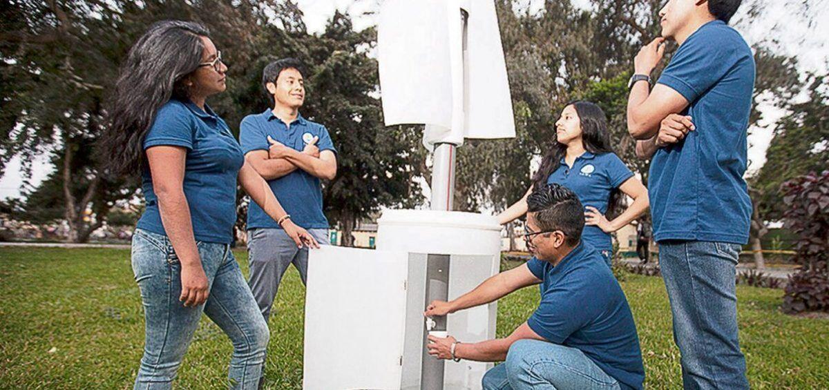 En Perú crean turbinas eólicas portátiles a bajo costo