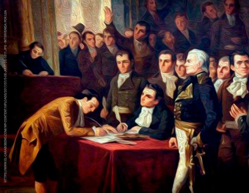 La universal firma de Miranda enaltece nuestra Acta de Independencia