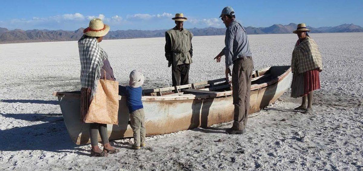 Cómo el lago Poopó pasó a ser un desierto